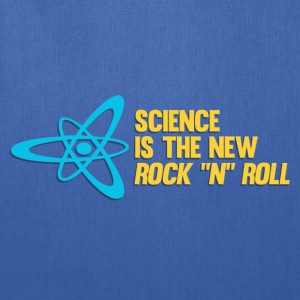 Science is the New Rock 'n' Roll T-Shirts - Tote Bag