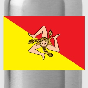 Sicily Flag T-Shirts - Water Bottle