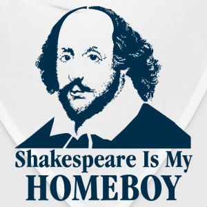 Shakespeare Is My Homeboy T-Shirts - Bandana