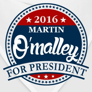 Martin O'malley 2016 Women's T-Shirts - Bandana