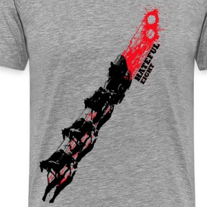 Quentin Tarantino The Hateful Eight | Blood Trails Long Sleeve Shirts - Men's Premium T-Shirt