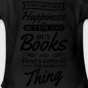 You can't buy happiness but you can buy books Kids' Shirts - Short Sleeve Baby Bodysuit