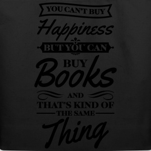 You can't buy happiness but you can buy books Women's T-Shirts - Eco-Friendly Cotton Tote