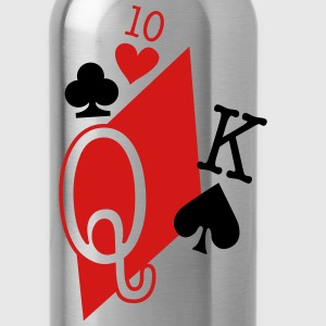 playing cards T-Shirts - Water Bottle