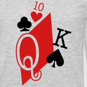 playing cards T-Shirts - Men's Premium Long Sleeve T-Shirt