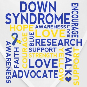Down Syndrome Walk T-Shirts - Bandana