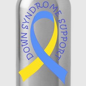 Down Syndrome Ribbon of Support T-Shirts - Water Bottle