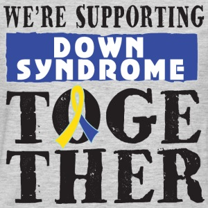 Down Syndrome Supporting Together T-Shirts - Men's Premium Long Sleeve T-Shirt