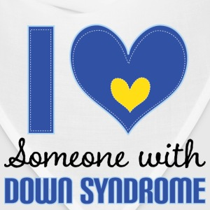 I Love Someone With Down Syndrome T-Shirts - Bandana