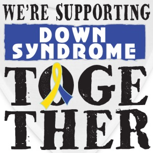 Down Syndrome Supporting Together Women's T-Shirts - Bandana