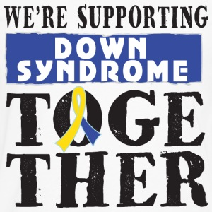 Down Syndrome Supporting Together Women's T-Shirts - Men's Premium Long Sleeve T-Shirt