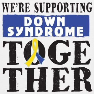 Down Syndrome Supporting Together Women's T-Shirts - Men's Premium Tank