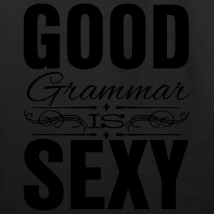 Good grammar is sexy Women's T-Shirts - Eco-Friendly Cotton Tote