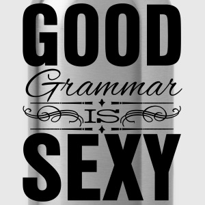 Good grammar is sexy Women's T-Shirts - Water Bottle