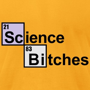 Science Bitches Bags & backpacks - Men's T-Shirt by American Apparel