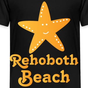 Rehoboth Beach Starfish Kids' Shirts - Toddler Premium T-Shirt