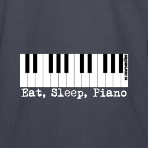 eat sleep piano Hoodies - Kids' Long Sleeve T-Shirt