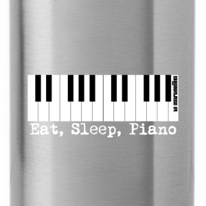 eat sleep piano Hoodies - Water Bottle