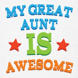 My Great Aunt Is Awesome Baby & Toddler Shirts - Men's T-Shirt