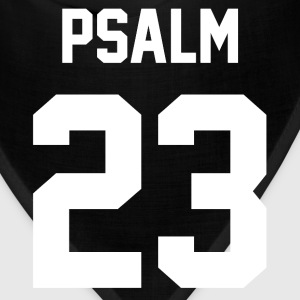 Psalm 23 - Men's Baseball T-Shirt - Bandana