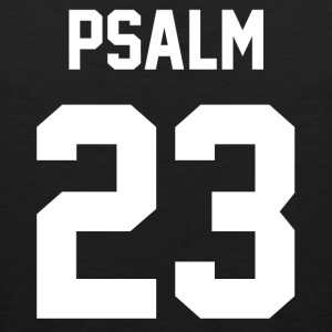 Psalm 23 - Men's Baseball T-Shirt - Men's Premium Tank