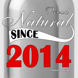 Natural Since 2014 - Water Bottle