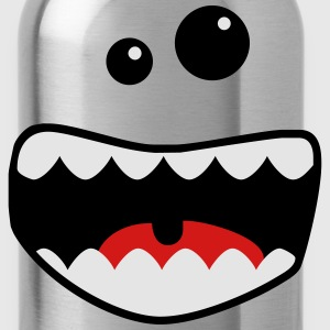 monster mouth Kids' Shirts - Water Bottle