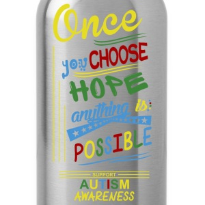 Support Autism Awareness - Water Bottle