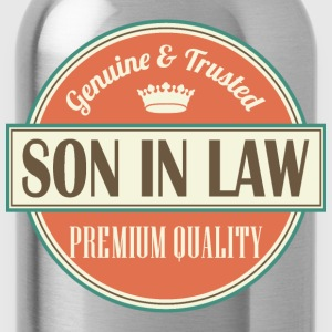 Son In Law gift (vintage) T-Shirts - Water Bottle