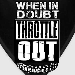 MX Doubt Throttle Out T-Shirts - Bandana