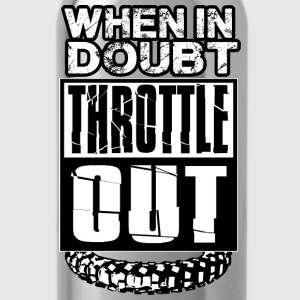MX Doubt Throttle Out Women's T-Shirts - Water Bottle