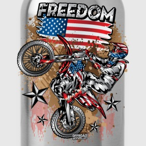 Motocross USA Women's T-Shirts - Water Bottle