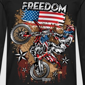 Motocross USA Women's T-Shirts - Men's Premium Long Sleeve T-Shirt