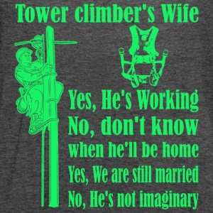 Tower Climbers Wife - Women's Flowy Tank Top by Bella