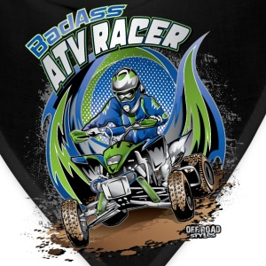 ATV Racer Motocross Kids' Shirts - Bandana
