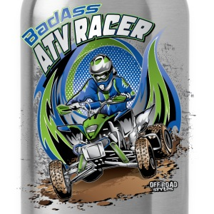 ATV Racer Motocross Kids' Shirts - Water Bottle