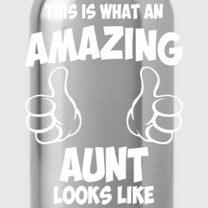 This Is What An Amazing Aunt Looks Like - Water Bottle