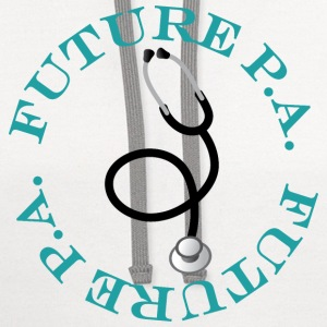 Future Physician Assistant Women's T-Shirts - Contrast Hoodie
