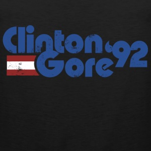 Clinton GORE 1992 92 politics  - Men's Premium Tank
