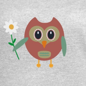 Owl with Flower Mugs & Drinkware - Women's Vintage Sport T-Shirt