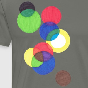 Circles - Men's Premium T-Shirt