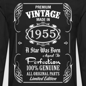 Premium Vintage Made In 1955 T-Shirts - Men's Premium Long Sleeve T-Shirt
