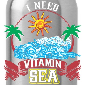 I Need Vitamin Sea - Water Bottle