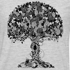 An ancient magical tree T-Shirts - Men's Premium Long Sleeve T-Shirt