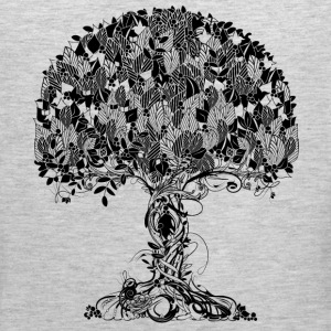 An ancient magical tree T-Shirts - Men's Premium Tank