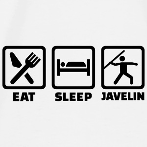 Eat Sleep Javelin Accessories - Men's Premium T-Shirt