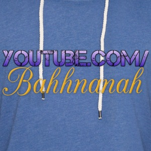 Youtube.com/Bahhnanah (logo)  Women's T-Shirts - Unisex Lightweight Terry Hoodie