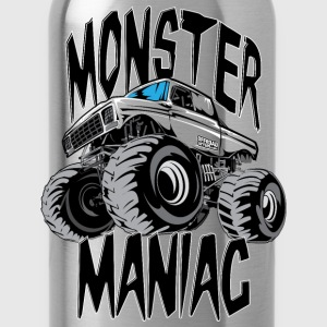 Monster Truck Maniac BIG Sweatshirts - Water Bottle