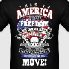 This Is America We Love Freedom We Drink Beer - Men's T-Shirt