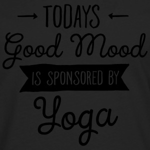 Todays Good Mood Is Sponsored By Yoga Women's T-Shirts - Men's Premium Long Sleeve T-Shirt